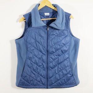 Columbia Steel Blue Performance Vest